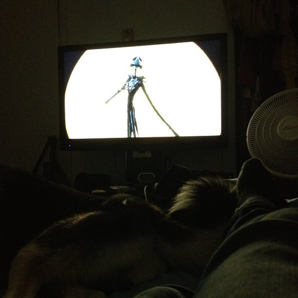 Nightmare before Christmas with Kay. (Taken with Instagram)