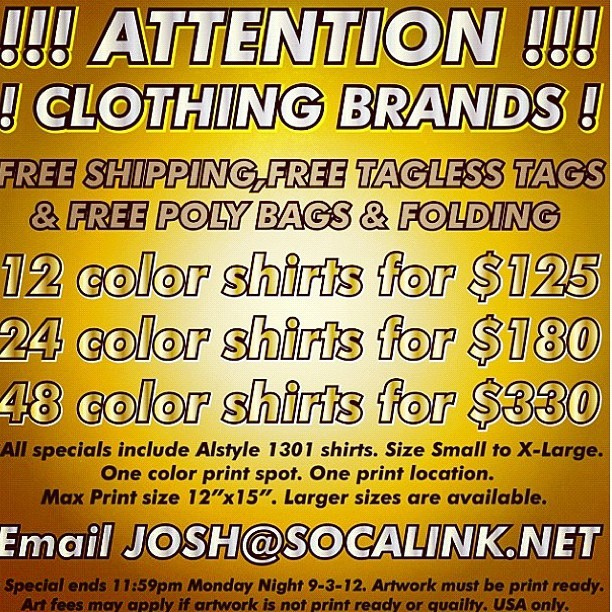 If you need custom shirts made, contact josh@socalink.net!!! He makes all my @txmelosangeles shirts 😌 #screenprinting #special #clothing #brand #fashion #style #graphics #losangeles #california #la #shirts #custom #apparel #instagram #tumblr (Taken with Instagram)