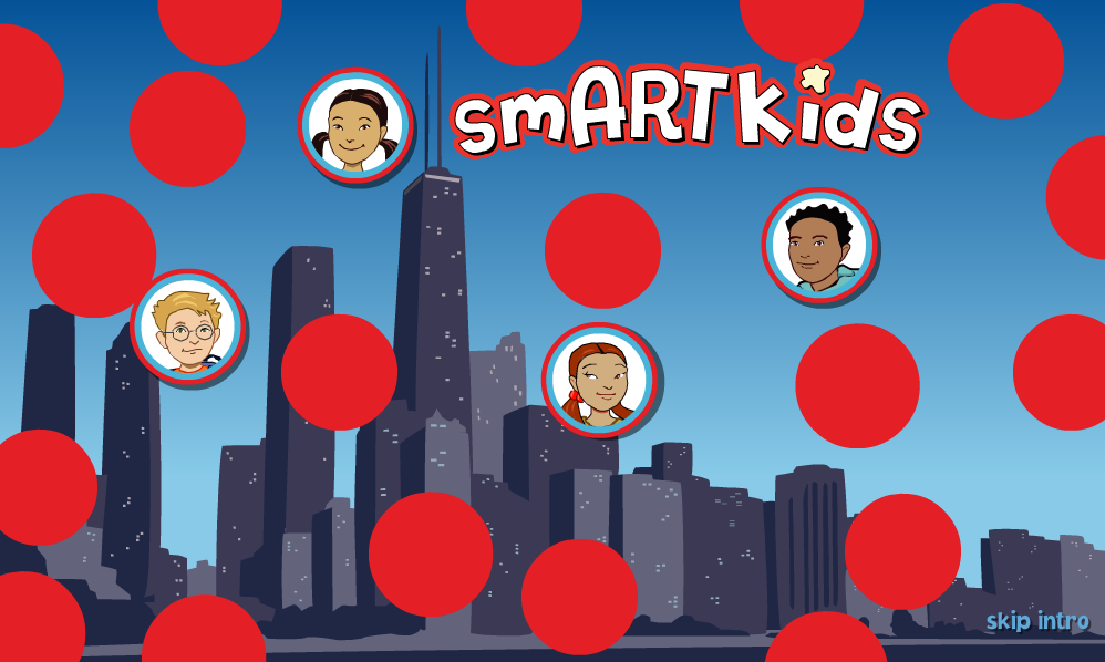 smArt Kids Impressive art site with many features/interactives! #artchat #edtech #4thchat #5thchat Features/interactives include … Look and Share…learn about tools and techniques. Art Detective…take a museum tour and pick up clues. Artist Studio…videos from artists Art Speak…learn art terms by reading and listening to audio. The Virtual Sketchbook is designed to reinforce the content introduced on the site. Builds writing and critical thinking skills. (Excellent feature!)   This site comes to you all the way from Chicago!!!! Yay! If you're in Chi-town you can visit the SMART Museum of Art Tuesdays thru Sunday. The SMART Museum is the University of Chicago's Art Museum. You may also like… Home Sweet Home Chicago! Artsonia Queensland Art Gallery Artsology Lauscaux Interactive cave with art!