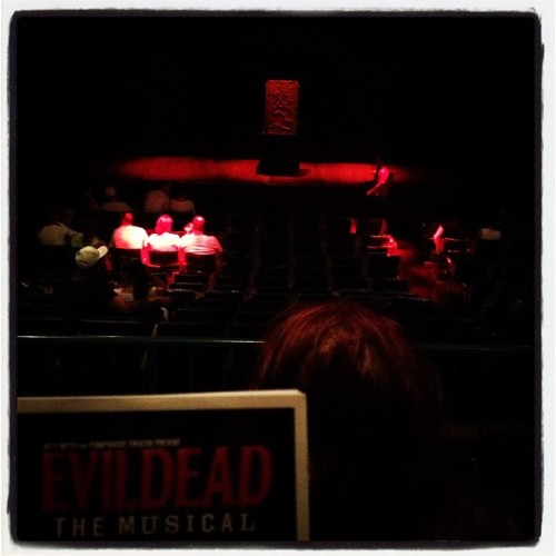 Pretty excited about #EvilDeadTheMusical (Taken with Instagram at Pumphouse Theatre)