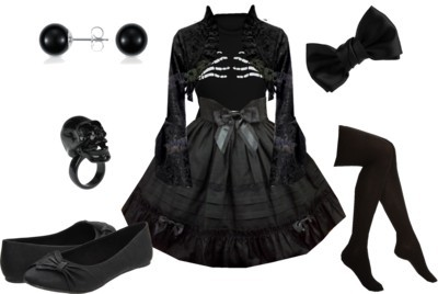 theeverydaygoth:  Someone take Polyvore away from me….  Why would we do that when you create such lovely outfits?