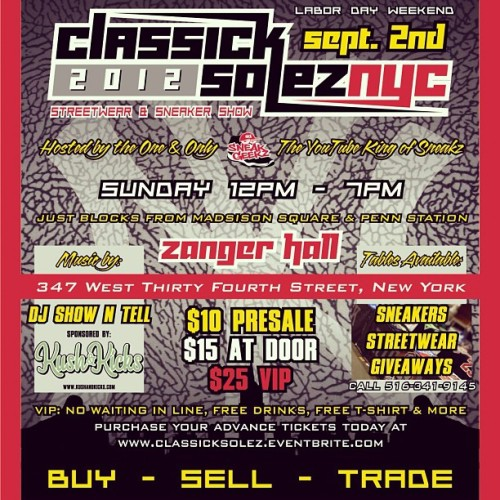 Kritikal Performing Live Tomorrow @ClassickSolez NYC!!! (Taken with Instagram)