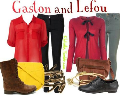 Gaston and Lefou outfit set :)!