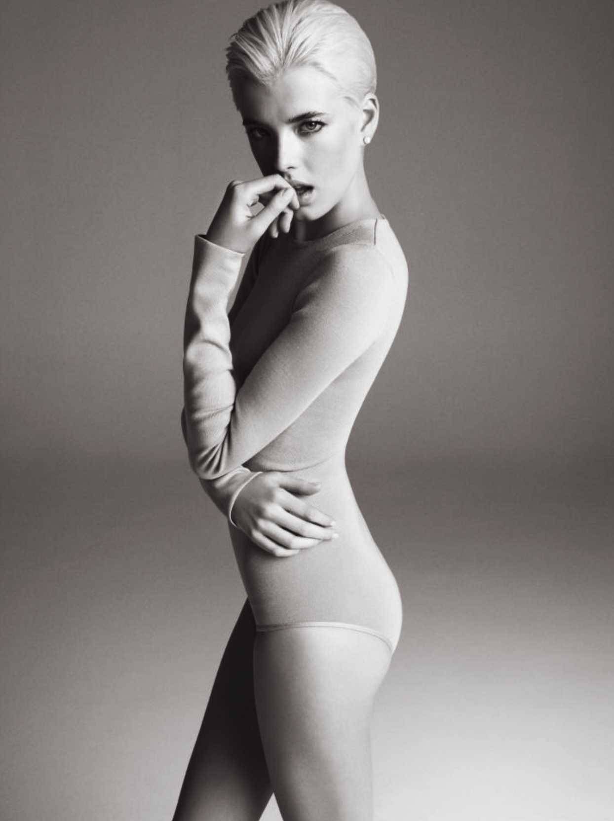 """The Importance of Being Agyness"": Agyness Deyn by Inez & Vinoodh for V #55 Fall 2008"
