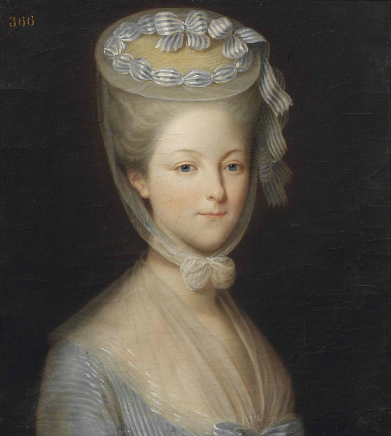 vivelareine:  The Princesse de Lamballe to the Princesse de Tarante; in a letter smuggled from the Temple in 1792, when she was briefly confined along with Louis XVI, Marie Antoinette and others  I have read to the bravest of friends your letter, my dear little one, and she bids me assure you of her friendship. We think of you. Send me, I beg you, a chemise; for two days I have not undressed. I embrace you with all of my heart.