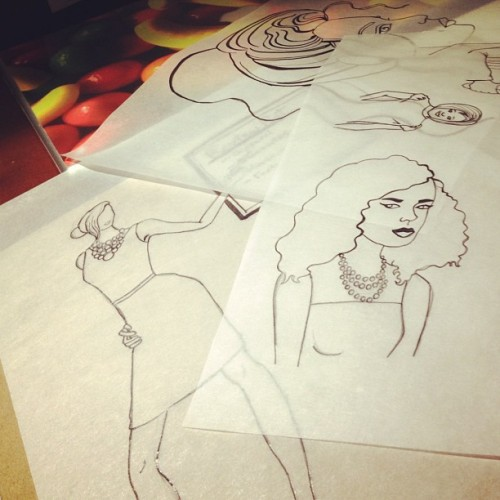 #drawing #marathon ! (Taken with Instagram)