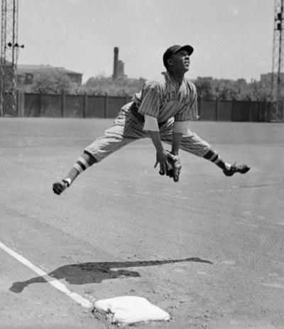 "mightyflynn:  Horacio ""Rabbit"" Martinez Forbes Field (Pittsburgh) Photo: Carnegie Museum of Art, Teenie Harris Archive via SABR"