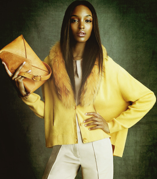 Jourdan Dunn for Ogilvy Fall 2012