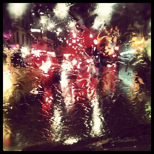 #rain #windowpane (Scattata con Instagram)