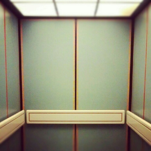 elevate. #elevator #walls #lights #latergram  (Taken with Instagram at Huntsville Hospital)