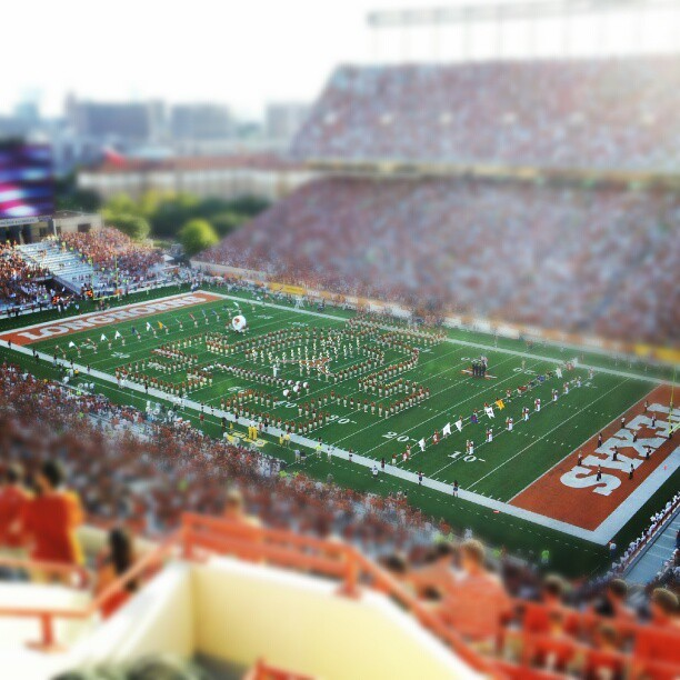 Texas Fight! #RISE (Taken with Instagram at Darrell K Royal Texas Memorial Stadium)