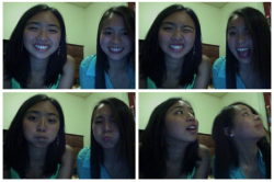 sleepover with eunah and karine and vivian! :) i love harvard! <3