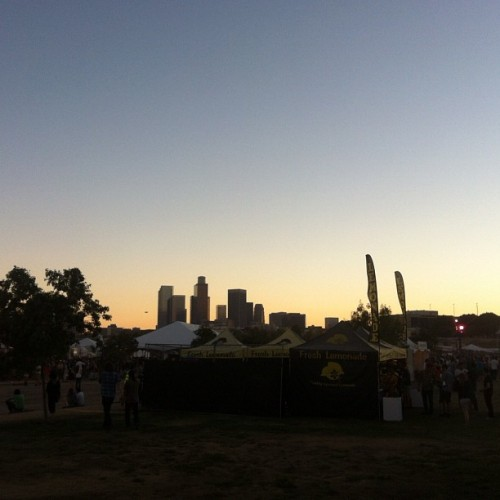 #fyffest #sunset #dtla 🎶🌙🌇🌅 (Taken with Instagram)