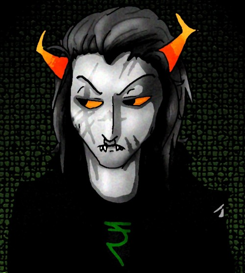 ahahaha oh shit i made a fantroll i did a talksprite form but i wanted to do it in a style i'm more familiar with too so here this is silvas kaplan