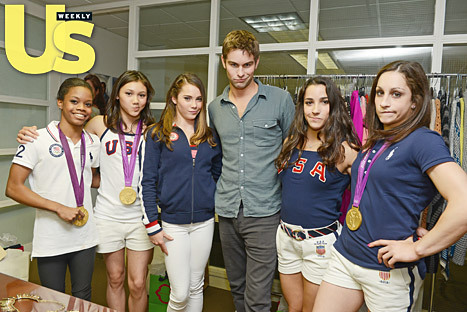 Gossip Girl's Chace Crawford and the Fierce Five  via Us Weekly