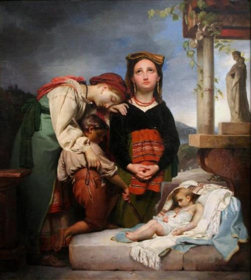 sisterwolf:  Francois-Joseph Navez - The Sick Child, 1844