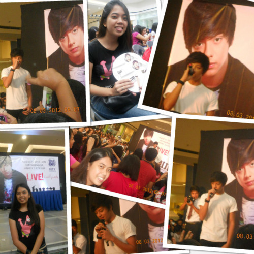 Had a chance to see him in person :) Super saya!!