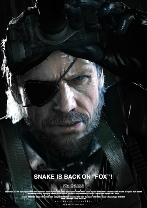 gamefreaksnz:  Metal Gear Solid: Ground Zeroes demo footage  Hideo Kojima has revealed the debut footage of the newly announced Metal Gear Solid: Ground Zeroes.  YAAAAY! It's not going to be another turn based strategy card game!