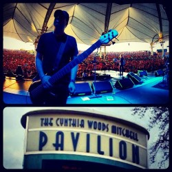 Tonight's show at the #CWMitchellPavilion in #TheWoodlands, TX.  (Taken with Instagram at Cynthia Woods Mitchell Pavilion)