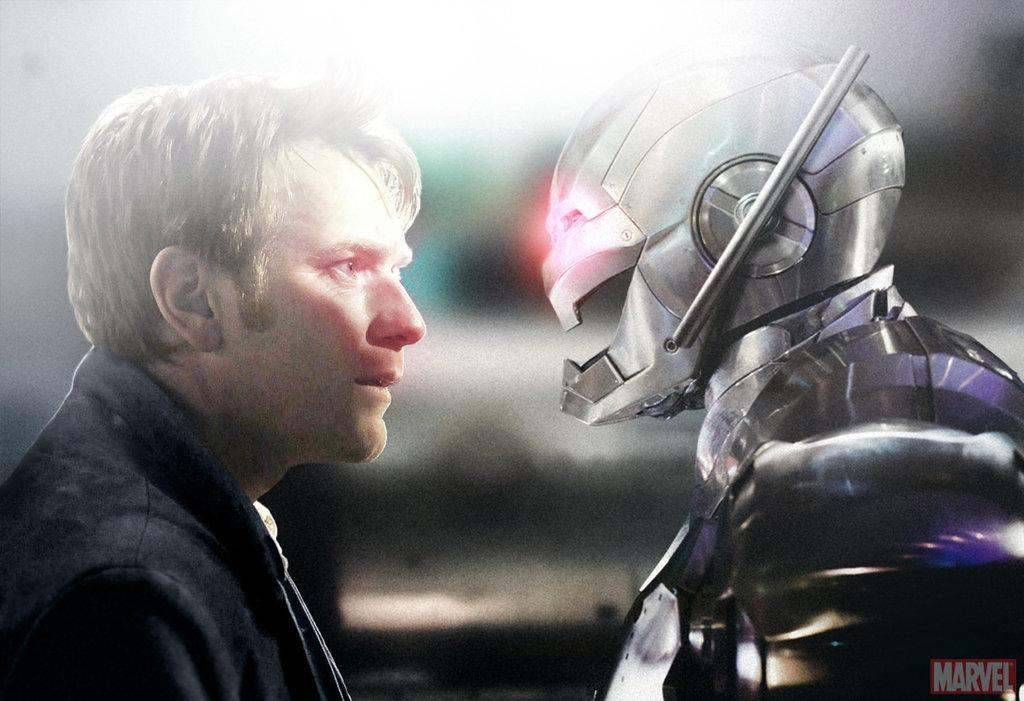 Henry Pym/Ant-Man (Ewan McGregor) Faces Off Against ULTRON In FAN MADE Still From THE AVENGERS Sequel  deviant art user:  SkinnyGlasses