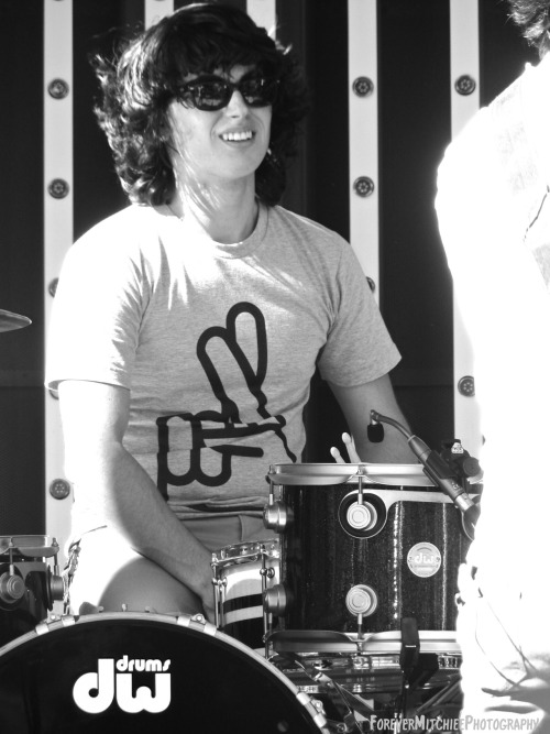 liveconcertphotographyfm:  Ricky Ficarelli, Drummer of Wellington, August 31, 2012, City Walk, Los Angeles, CA