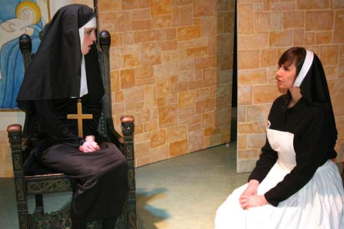 Dress rehearsal~ Mother Abbess and Maria *The Sound of Music*