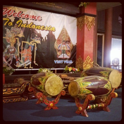 #gendang #wellcome #to #indonesia  (Taken with Instagram)