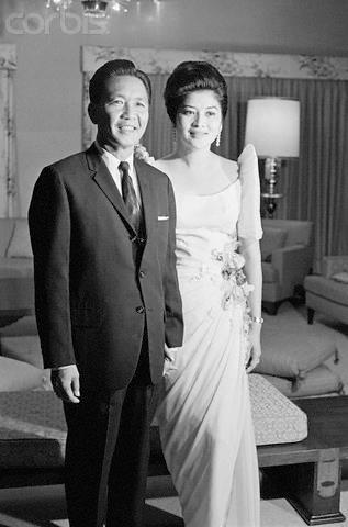 "Ferdinand Marcos told Imelda once:  ""I dont believe in courtship. It's a waste of time. If I love the person, I'll tell her right away. But for you I'll make an exception. JUST LOVE ME NOW,AND I'LL COURT YOU FOREVER."""
