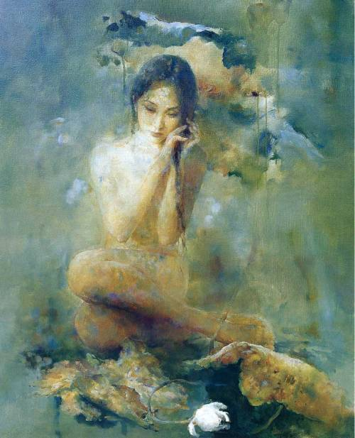 welovepaintings:  Hu Jundi