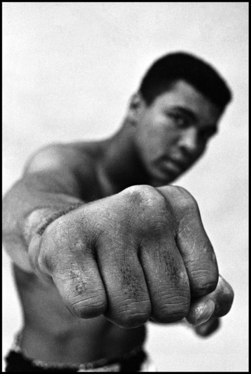 Muhammad Ali. Photo by Thomas Hoepker
