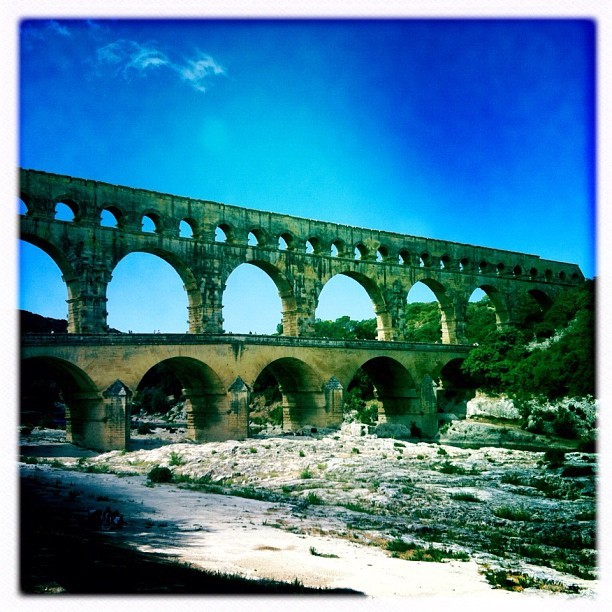 Pont du Gard (Taken with Instagram at Pont du Gard)