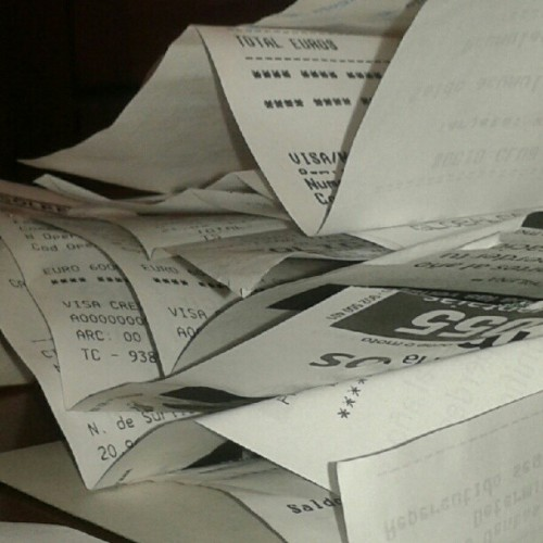 Tickets, tickets everywhere… (Tomada con Instagram)