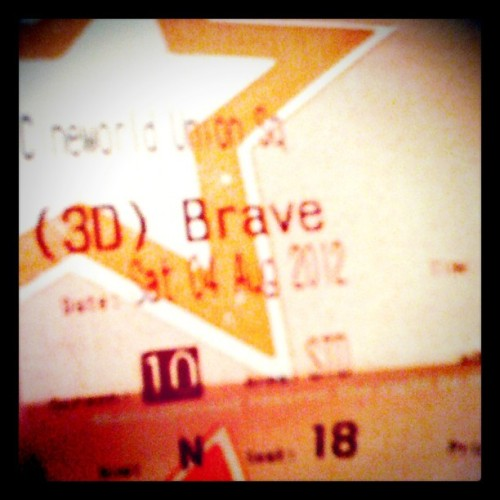 day 217: #brave :) (Taken with Instagram)