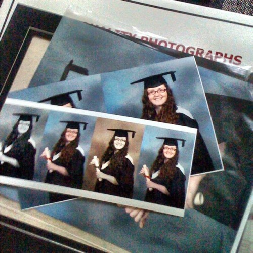 day 219: #chuffed #gradphotos (Taken with Instagram)