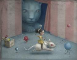 The Chase by Nicoletta Ceccoli
