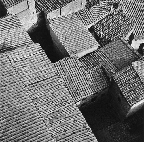 Roof Patterns, San Gemignano, 2002by Robert Hecht