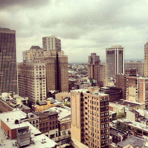 View from the hotel (Taken with Instagram at Sonesta Hotel Philadelphia)