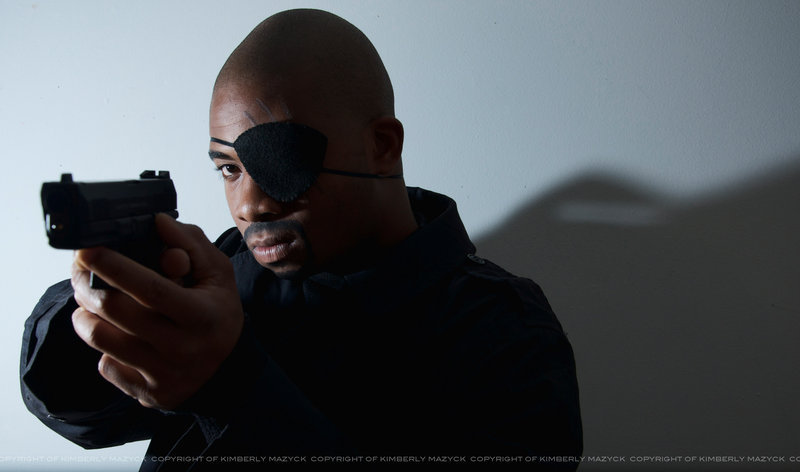 Nick Fury Cosplay by ~kimberlystudio Series: The Avengers
