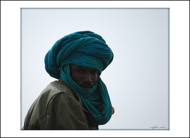 tuareg by Angeles Mora on Flickr.