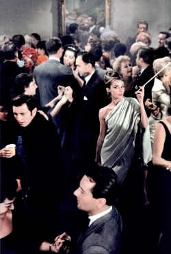 Holly Golightly's party.