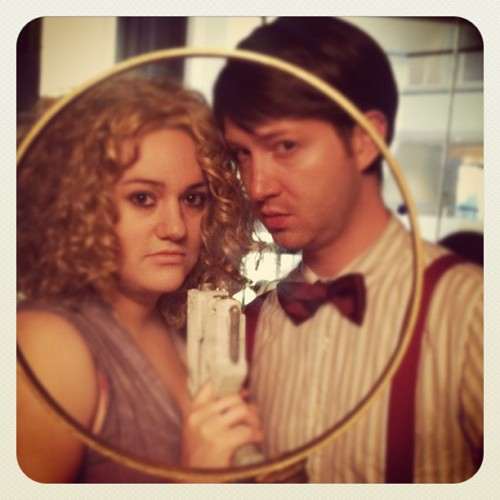 The Doctor and River are looking at you! (Taken with Instagram)