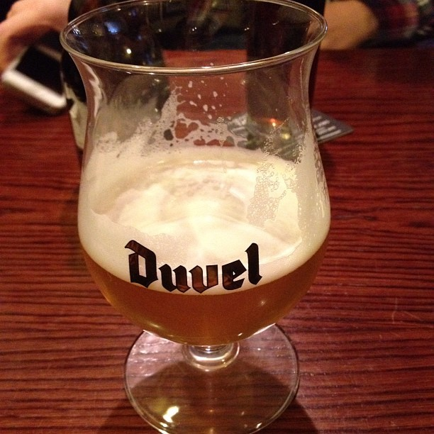 Mid day #duvel time! ~ #duvel #beer #outallday (Taken with Instagram)