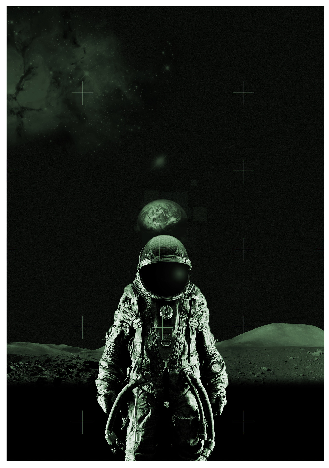 Re-edited version of that spaceman picture I made a while back,Its a lot cleaner now Sorry for the lack of posting :( I made a new blog for my art if any of you guys want to follow you can find me here -Sean