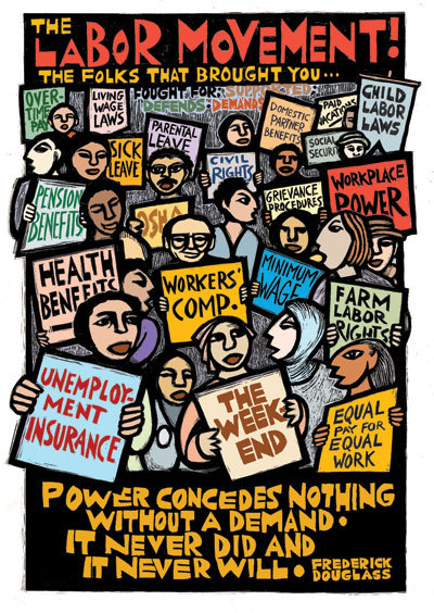 androphilia:  Labor Movement By Ricardo Levins Morales