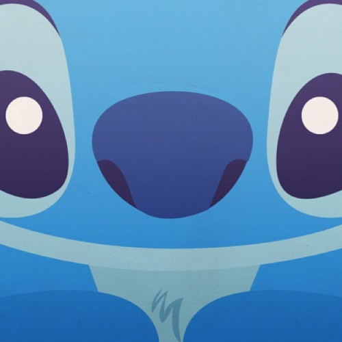 cantjustthrowmeaway:  Sooo cute :') #brbdying #stitch #cute #adorable #blue (Taken with Instagram)