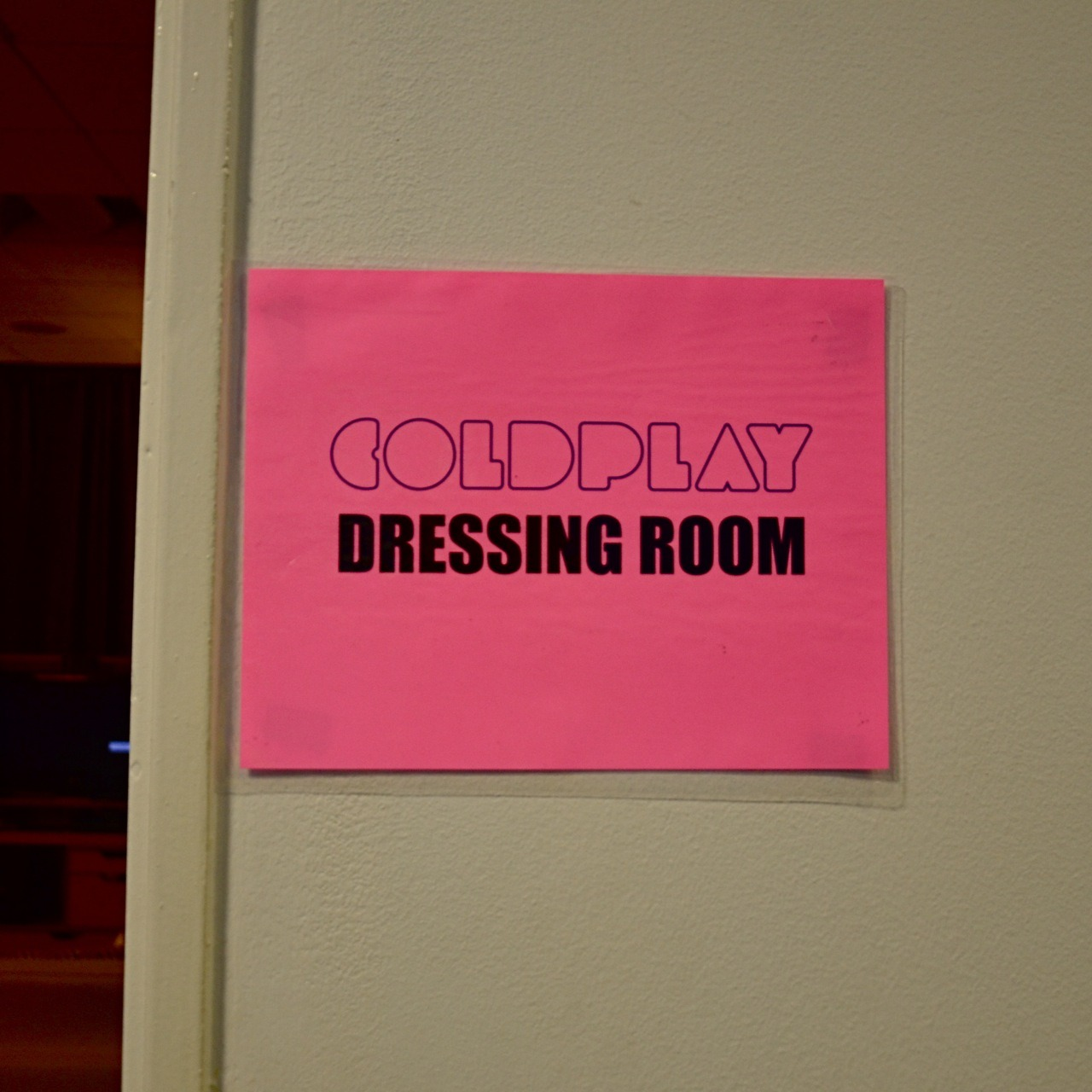 coldplay:  We're backstage with Coldplay at the band's sold out show at Paris's Stade de France. Our live blog starts right here at coldplay.tumblr.com at 8.30pm French time (7.30pm UK, 2.30pm ET, 11.30am PT). Come join us…