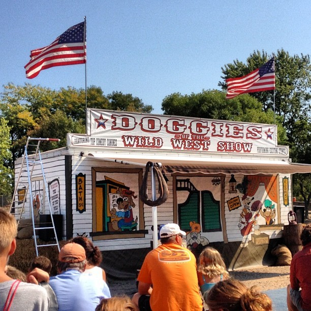The anticipation is killing me #statefair #part2 (Taken with Instagram at Doggies Of The Wild West)