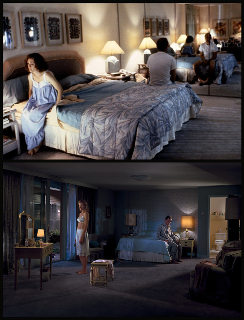 zeitgeistfilms:  speakingparts:  Todd Haynes, Safe [1995] VS Gregory Crewdson, Untitled (Woman at the Vanity) [2004]   Auto Safe/Todd Haynes reblob. One of my favorite movies.
