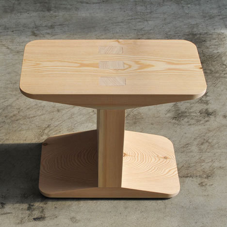 Centanni Stool by James Irvine for Discipline