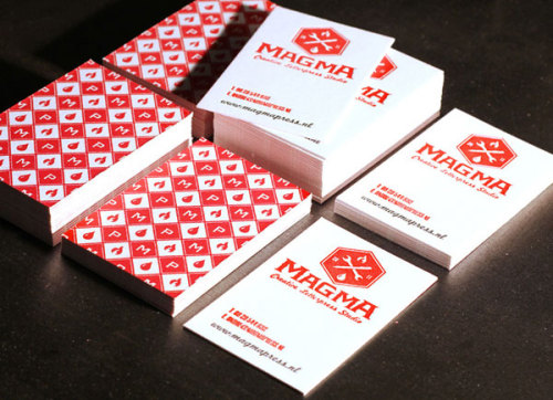 Magma Press Letterpress Pattern Cards
